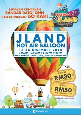 FESTIVAL JLAND HOT AIR BALLOON