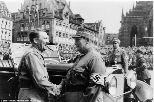 Adolf Hitler cars Hermann Goering worldwartwo.filminspector.com