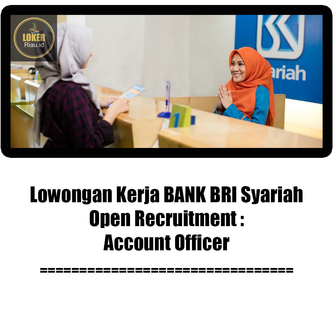 Lowongan Kerja Bank Riau Syariah Zona Ilmu 2