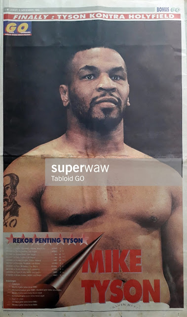 POSTER MIKE TYSON 1996