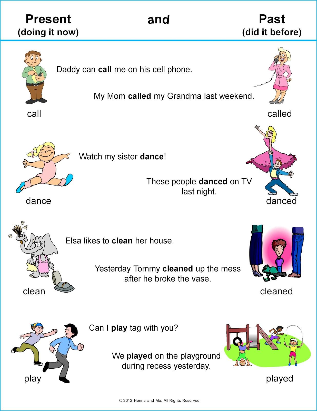 Apren Ndo Los Verbos En Ingles