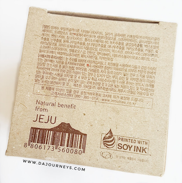 Review Innisfree Jeju Volcanic Pore Clay Mask