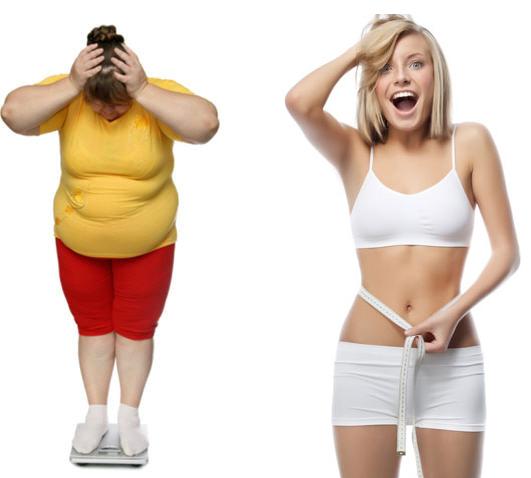 วิธีลดน้ำหนักอย่างรวดเร็วโดยไม่ต้องอดอาหาร