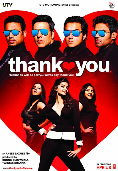 Poster Of Thank You 2011 Hindi 720p BRRip Full Movie Download