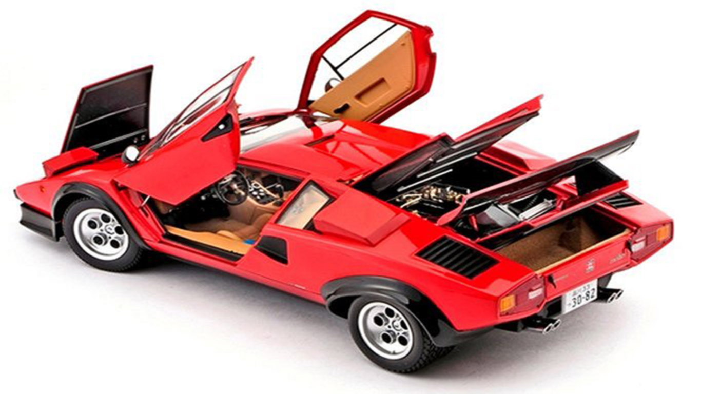 Lamborghini Countach Walter Wolf Countach And 25th