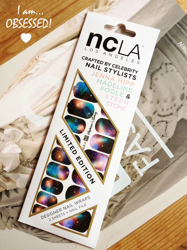 A Galaxy On My Nails Ncla Limited Edition Nail Wraps Stylonylon
