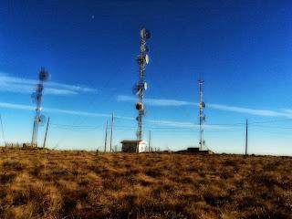 Morro das Antenas, em Urupema