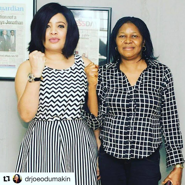 superstar actress Monalisa Chinda shows unflinching passion as an Anti-GBV ambassador