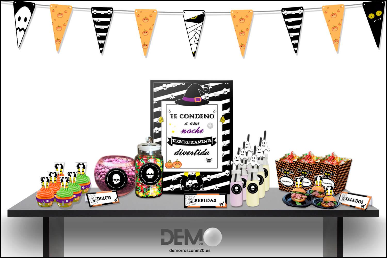 banderines-halloween-imprimibles-gratis