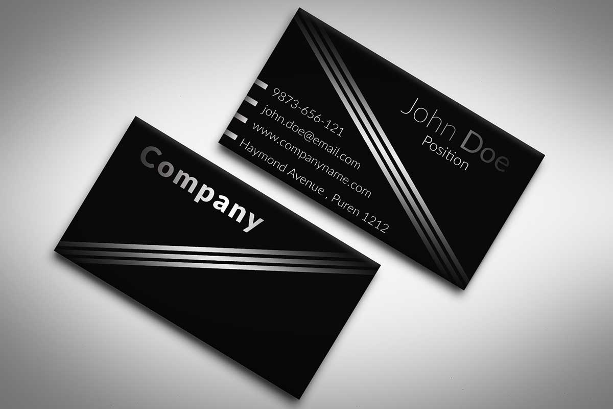 Black business cards business card tips black business cards reheart Choice Image