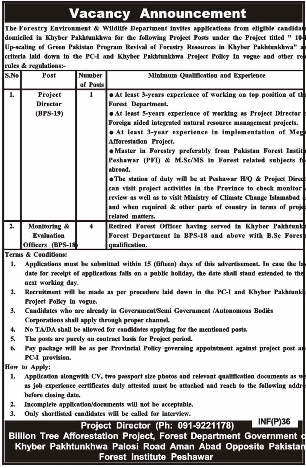 peshawar jobs 2019 newpakjobs