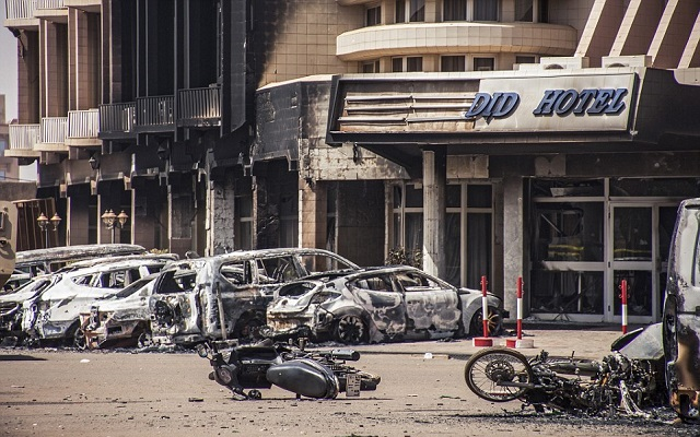 [Video] Terrorist Attack in Ghana's neighbour Country - Burkina Faso