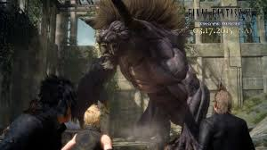 games, final fantasy xv, final fantasy 15, monster, legenda, foto, gambar