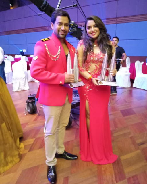 Amrapali Dubey International Bhojpuri Film Awards Picture