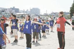 オリンピックデー・フェスタin塩釜、塩釜三小校庭で開催