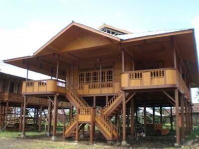 Gambar Desain Rumah Adat Sulawesi Utara