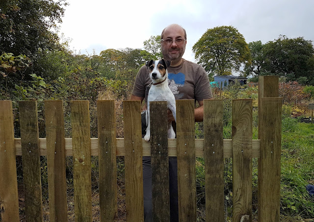 new fence started