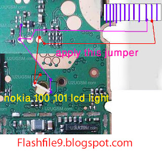 hello Friends Now i will share with your how to fix nokia 101 display light problem. if your call phone light is water damage problem after clean your device show display light is not working properly.