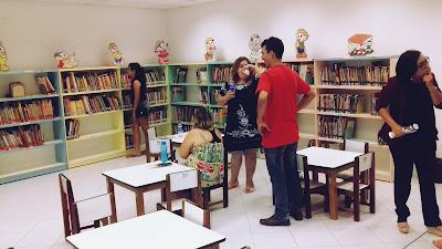 Biblioteca, Itapipoca, Sala Infantil, Livros, Literatura
