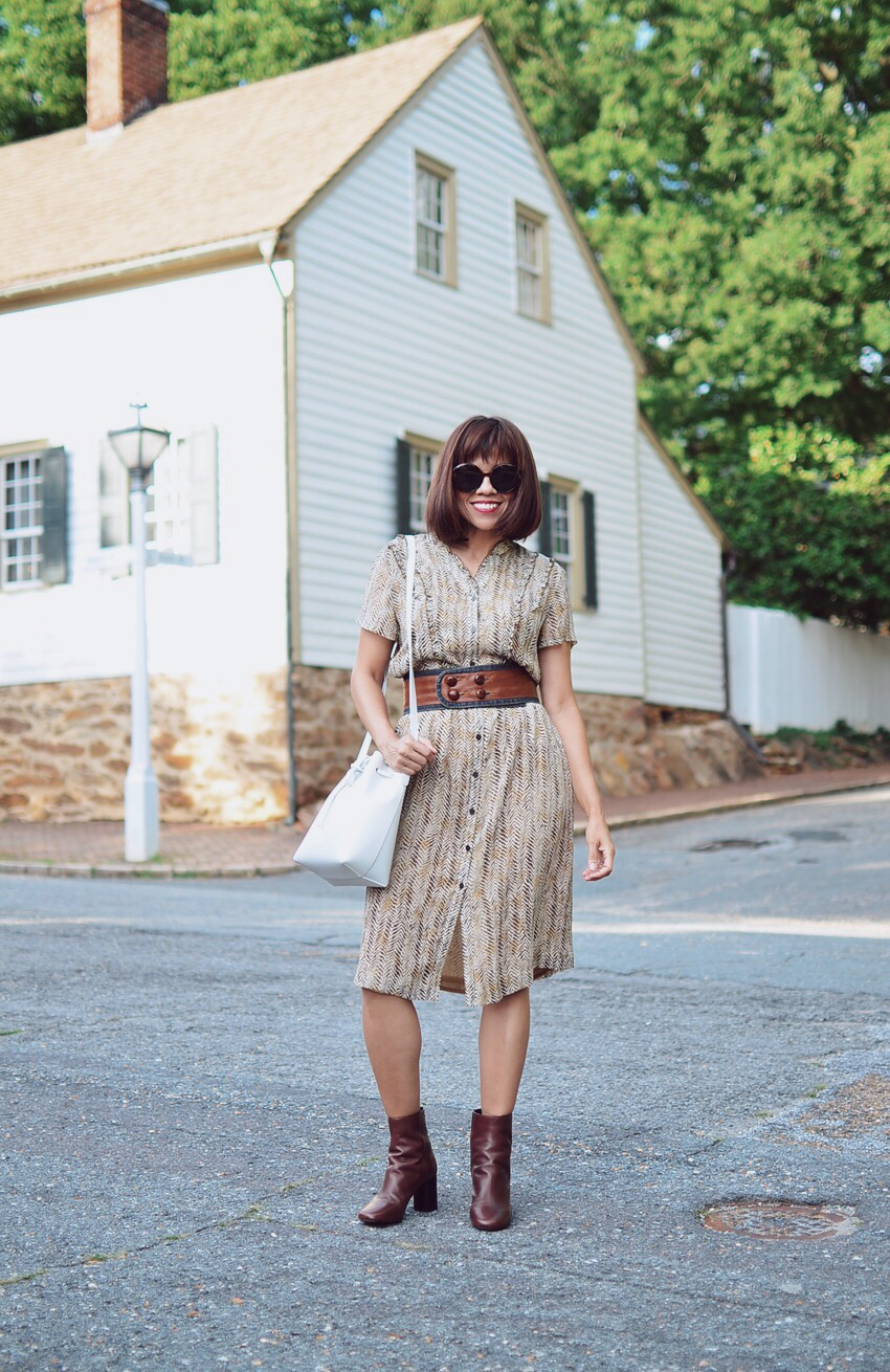 Brown on brown street style
