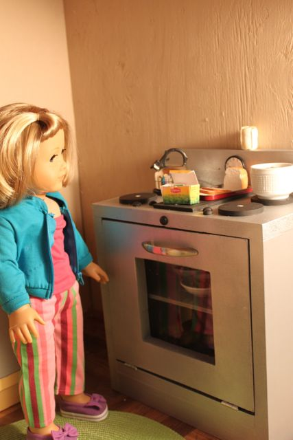 Made Pieces For Reese 18 Inch Doll Kitchen Part 3 Stove