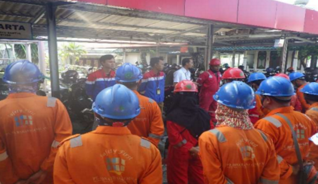 safety talk pertamina rewulu