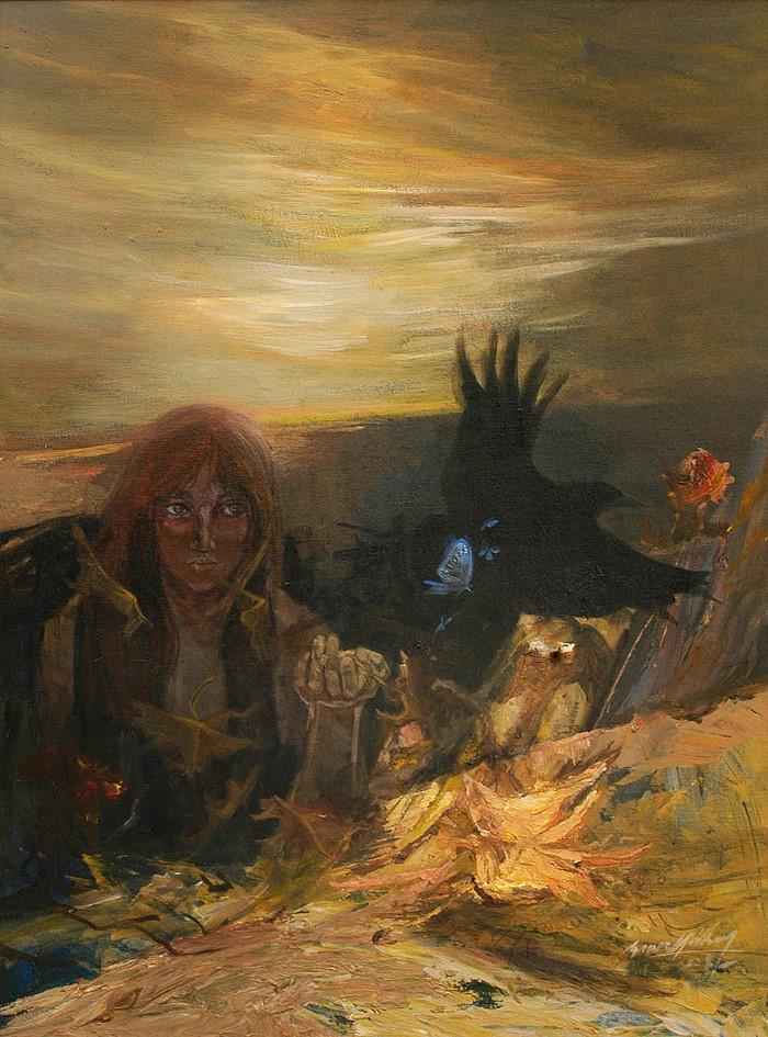 Турецкий художник, реставратор и арт-терапевт. Soner Goksay