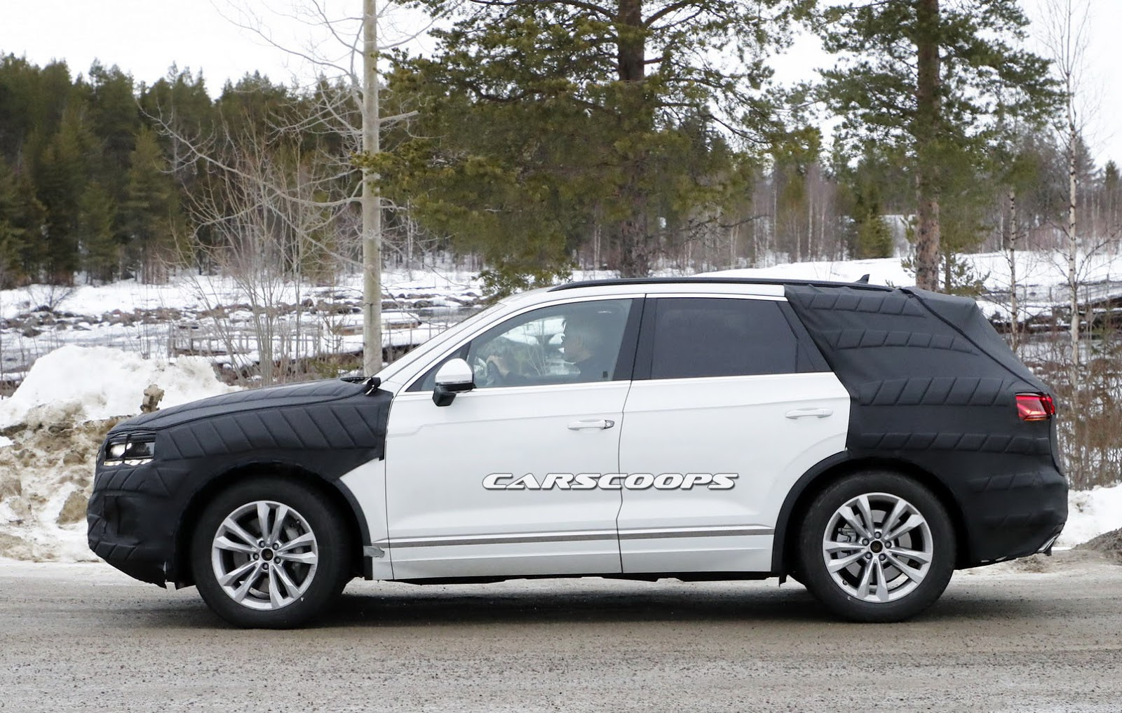 All New 2019 Vw Touareg Is Pretty Much The Production T