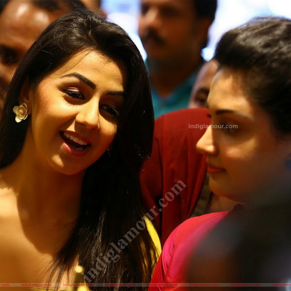 Nikki Galrani and Honey Rose latest hot photos from Nakshatra Jewellery Inauguration