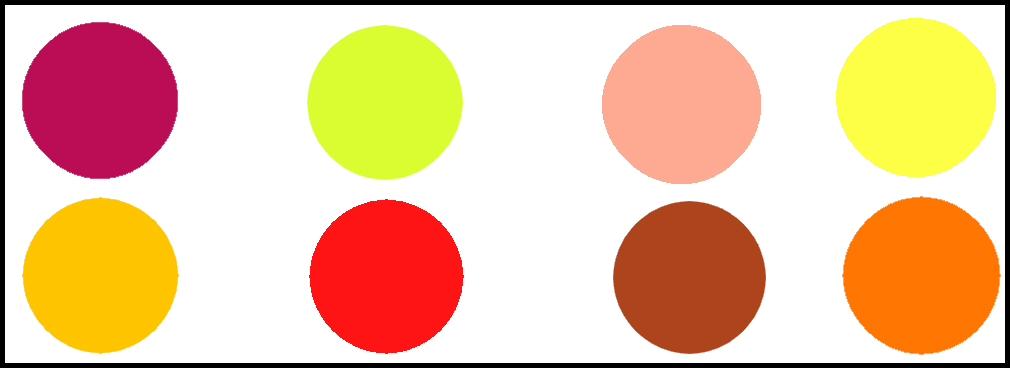 Master maker blog clasificaci n de colores tradicional aditiva sustractiva - Todos los colores calidos ...