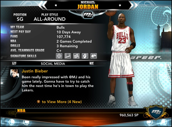 Amoroso bordillo Violar  NBA 2K13 Michael Jordan MyCareer Profile v2 - NBA2K.ORG