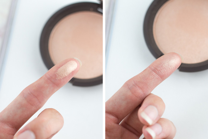 becca x jaclyn hill shimmering skin perfector highlighter champagne pop swatched