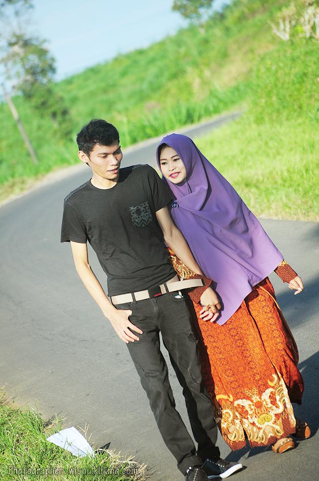 Prewedding TITIEN & SAEP 2 - titinsaep.klikmg.com | Foto oleh : wisnu.klikmg.com