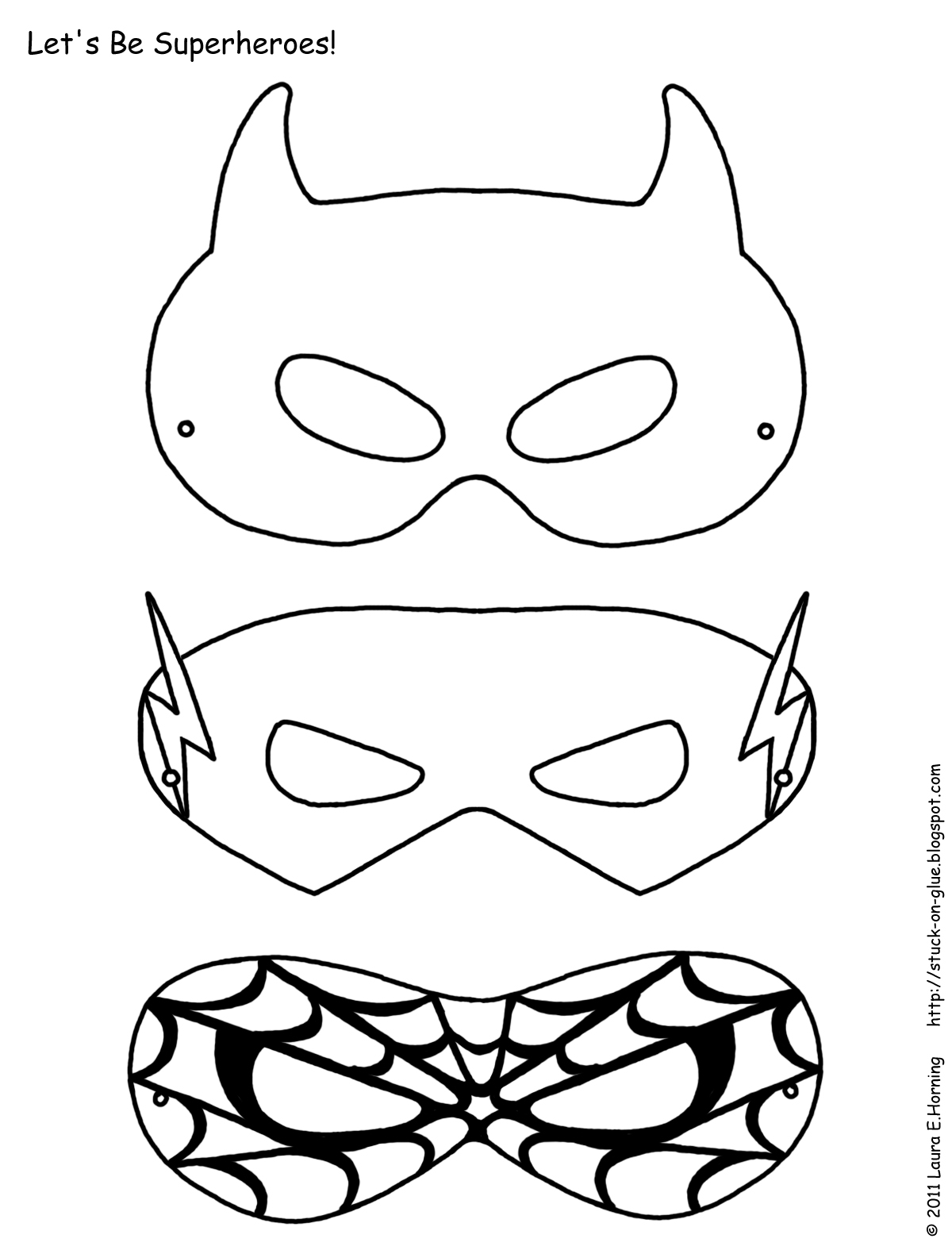 coloring pages of masks - photo#15
