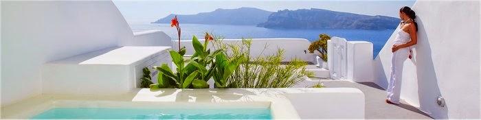Hotel romantici Oia Santorini Grecia