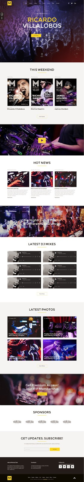 Best Muse Template 2015