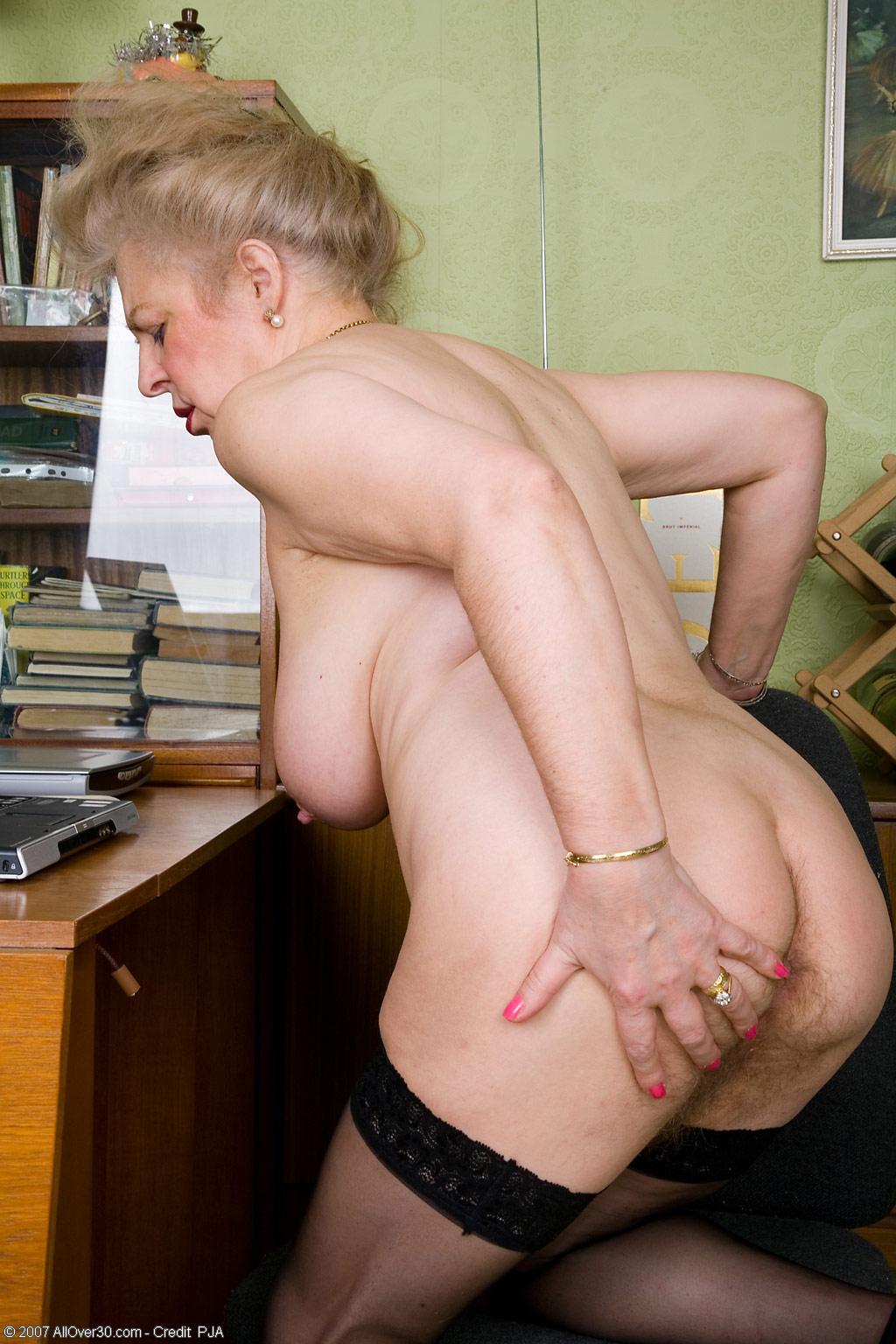 Big Hairy Granny Porn