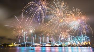 Fireworks in Riga