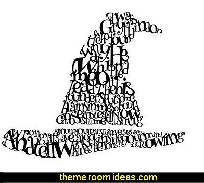 Harry Potter Sorting Hat Quote - Custom Vinyl Wall Art Decal