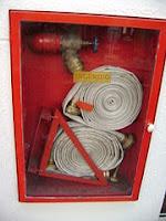 Aula de combate e prevenção ao incêndio