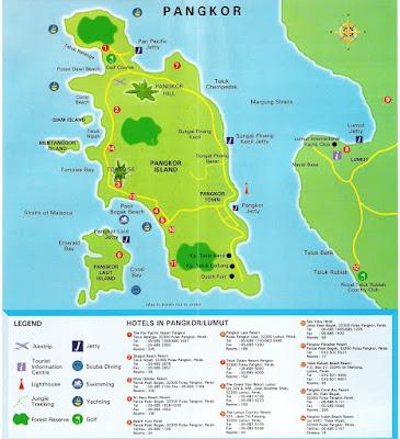 pangkor island maps