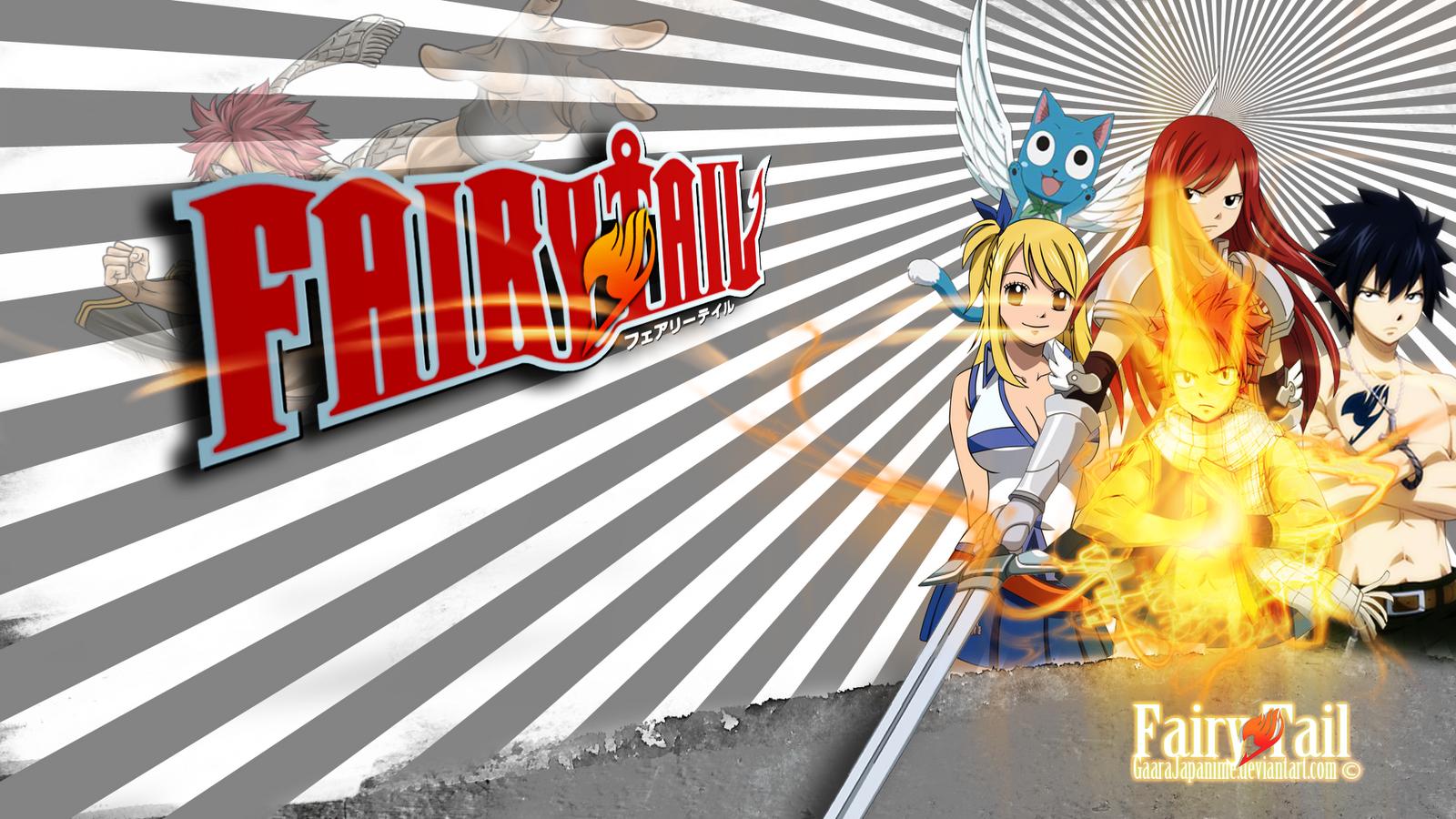 Fairy Tail Wallpapers - 21 Fondos de Pantalla HD