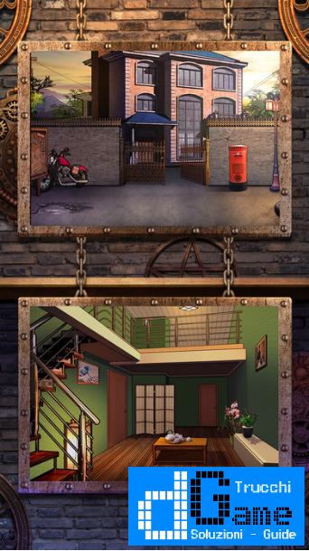 Soluzioni Room Escape Story 9 (Casa Infestata) di tutti i livelli   Walkthrough guide
