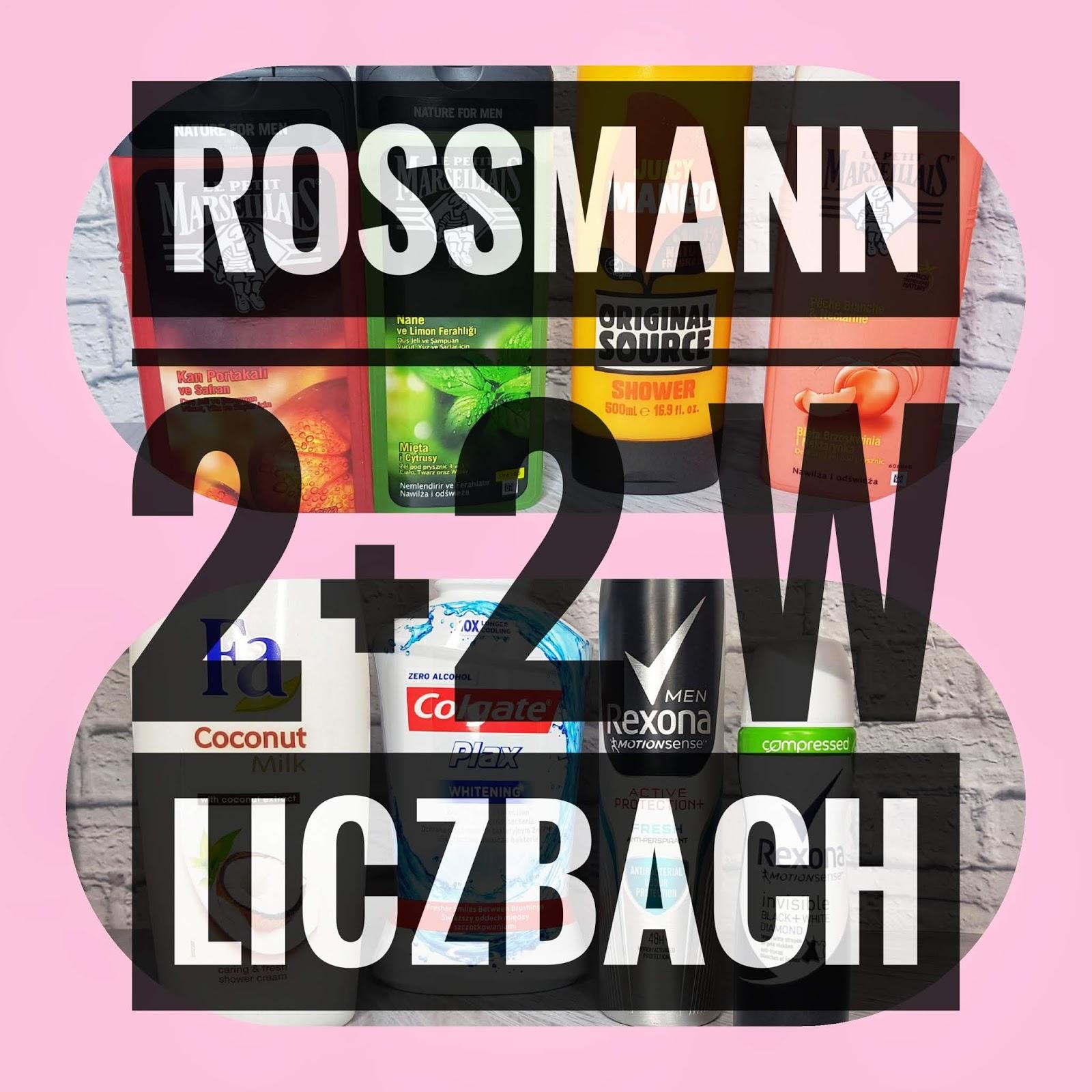 Łupy z Rossmanna na dwie karty w liczbach