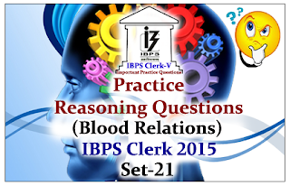 Practice Reasoning Questions (Blood Relation)