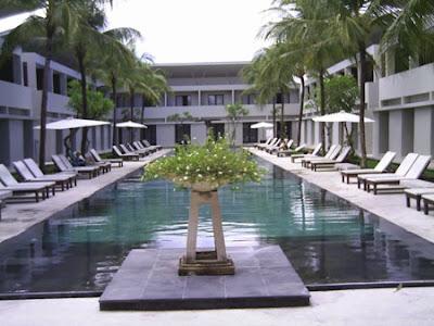 The Oasis Kuta Hotel Area