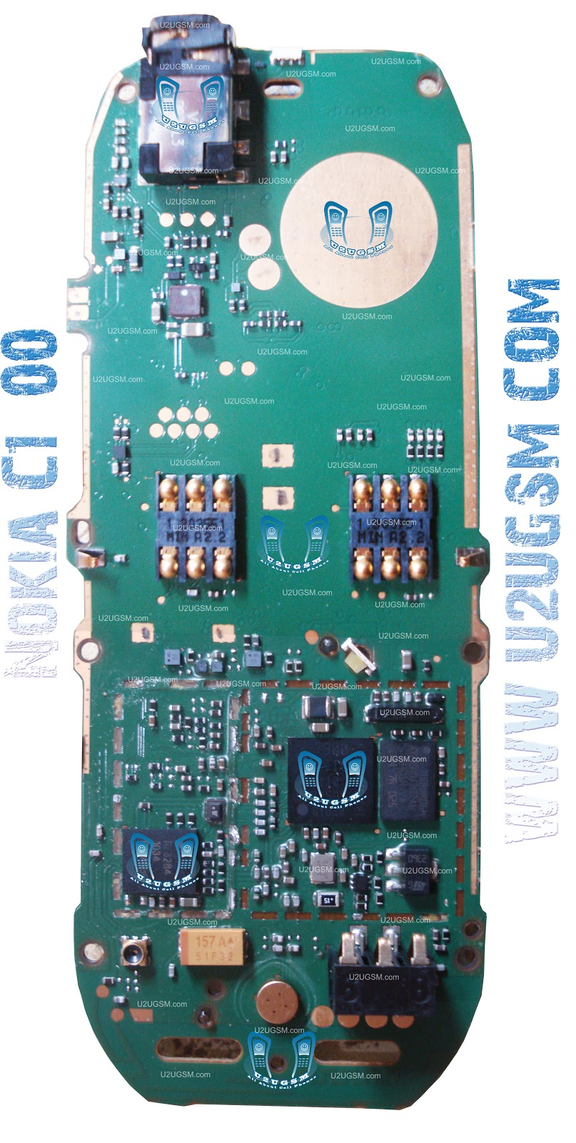 Nokia C1-00 Full PCB Diagram Mother Board Layout mobile repairing ...