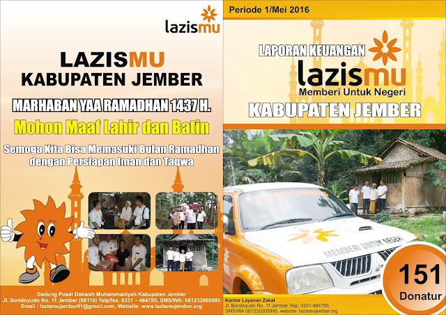 Cover Luar Laporan Lazismu Mei 2016