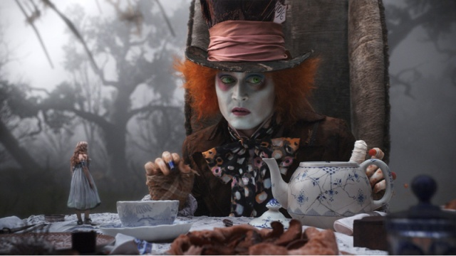 Johnny Depp Alice in Wonderland 2010 animatedfilmreviews.filminspector.com