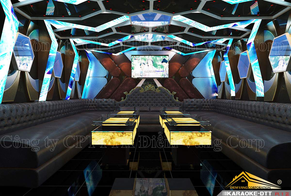Thiết kế phòng karaoke 3D Ảnh Full chất lượng cao 43